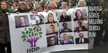 Jailed HDP Deputies including co-chairs Yuksekdag and Demirtas