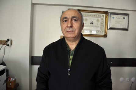 Lawyer Gurcan Sagcan, president of Usak Bar Association