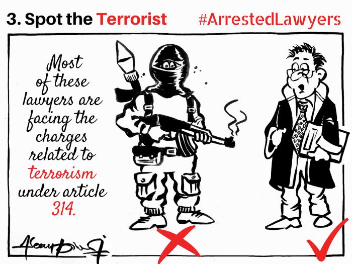 3. spot the terrorist