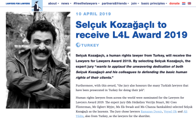 https://lawyersforlawyers.org/selcuk-kozagacli-to-receive-l4l-award-2019/