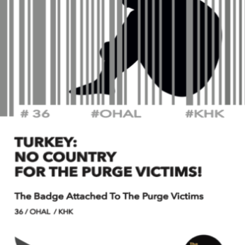 Turkey:No Country For The Purge Victims!